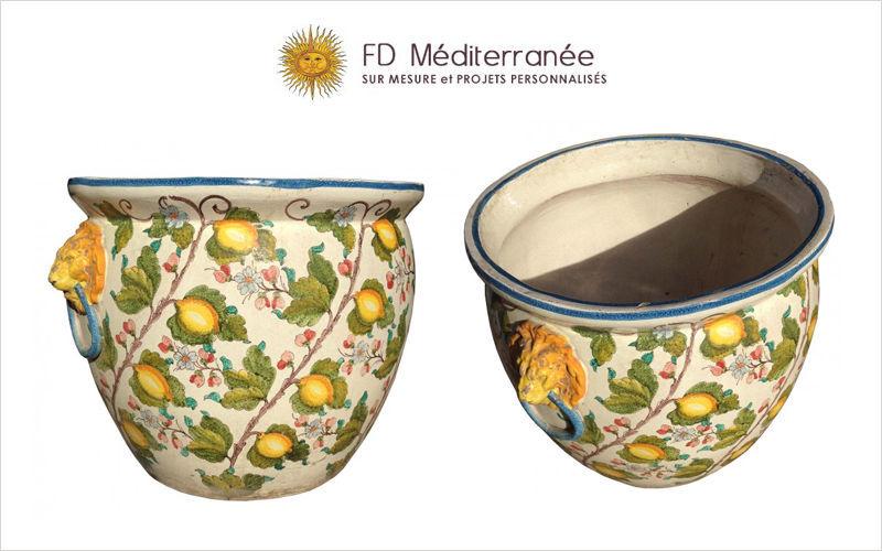 Fd Mediterranee Übertopf Blumentöpfe  Blumenkasten & Töpfe  |