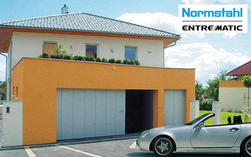 NORMSTAHL Garagenschiebetor Garagentor Fenster & Türen   