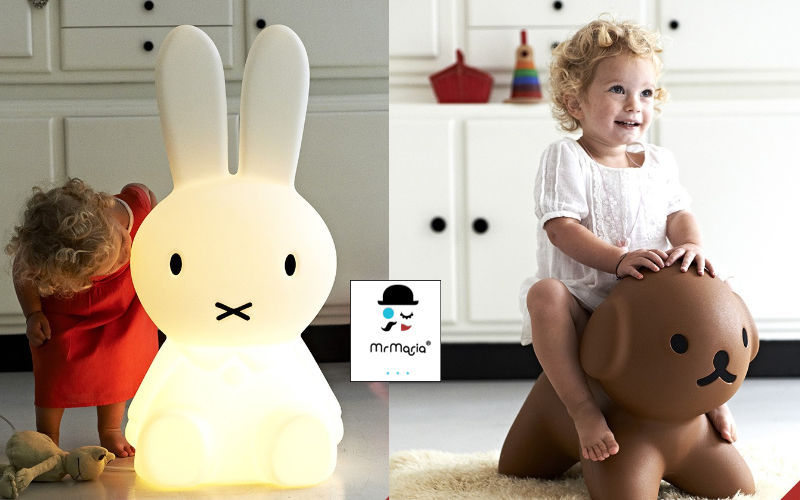 MR MARIA Kinder-Tischlampe Kinderleuchten Kinderecke  |