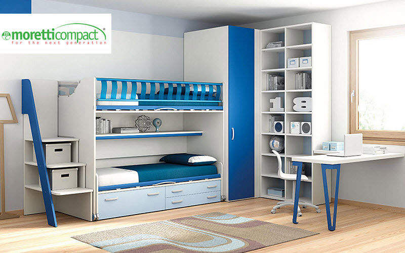 MORETTI COMPACT Hochbett Kinderzimmer Kinderecke  |