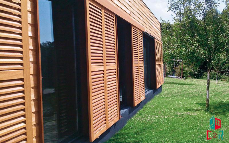 C2r menuiserie Schiebeläden Fensterläden Fenster & Türen  |