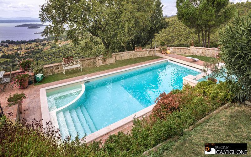 Piscine Castiglione Traditioneller Swimmingpool Schwimmbecken Schwimmbad & Spa  |