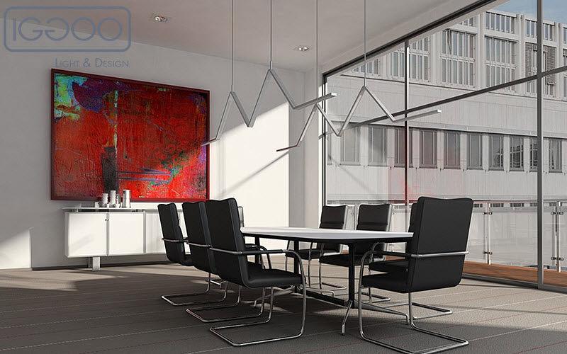 IGGOO Bürohängelampe Kronleuchter und Hängelampen Innenbeleuchtung  |