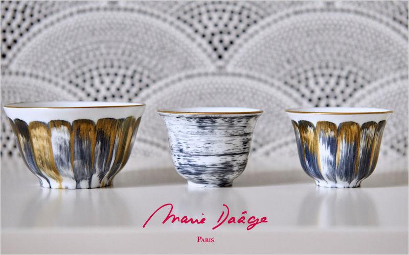 Marie Daage  Becher und kleine Becher Geschirr   