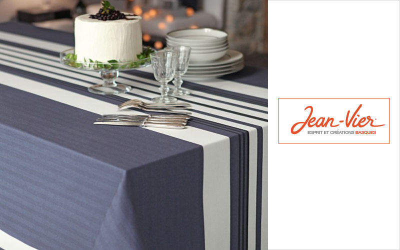 Jean Vier Rechteckige Tischdecke Tischdecken Tischwäsche  |