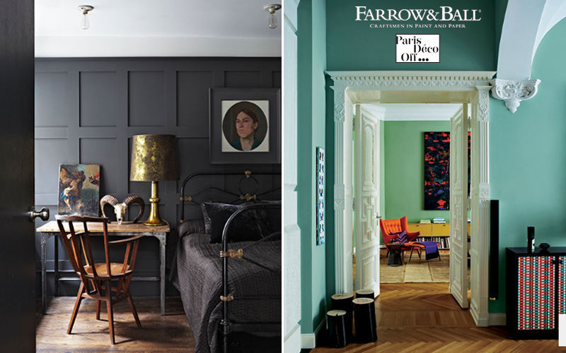 Farrow & Ball Wandfarbe Anstriche Metallwaren  |