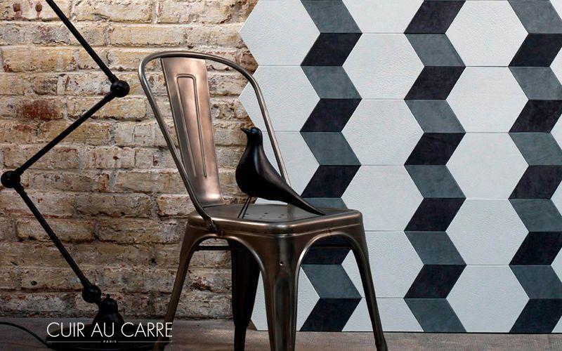 CUIR AU CARRE Wandverkleidung Wandbelag Wände & Decken  |