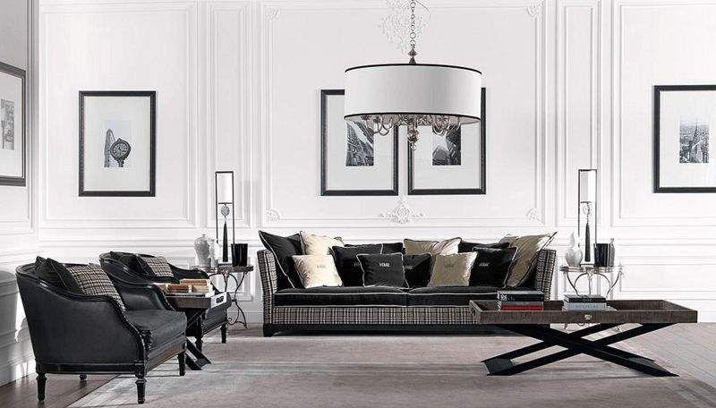 GIANFRANCO FERRÉ HOME Wohnzimmersitzgarnitur Couchgarnituren Sitze & Sofas Wohnzimmer-Bar | Design Modern