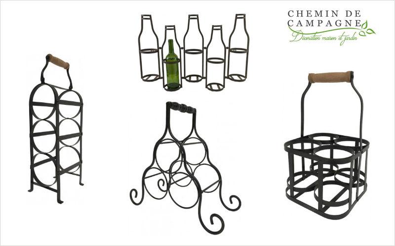 CHEMIN DE CAMPAGNE Flaschenträger Regale Küchenaccessoires  |