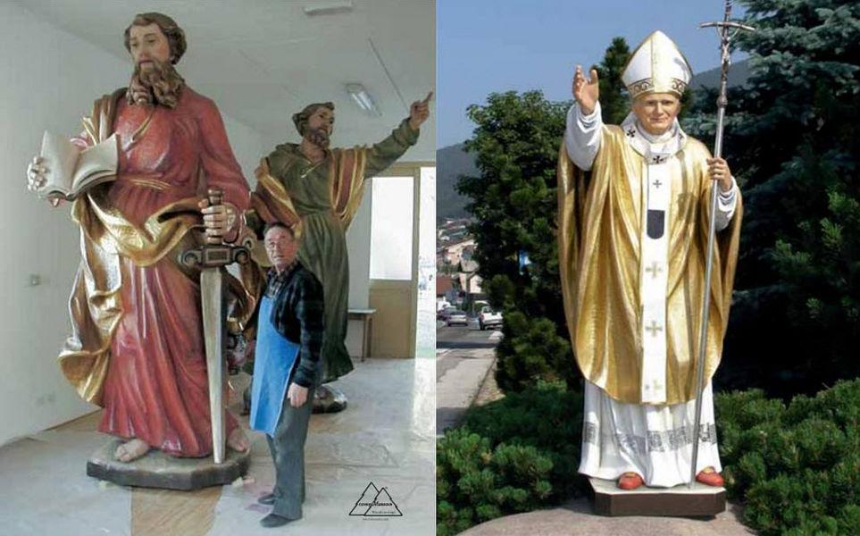 Conrad Moroder Statue Figuren und Skulpturen Kunst  |