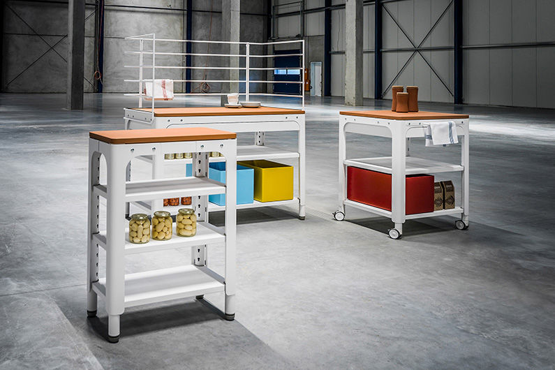 N-BY-NABER Küchenunterschrank Küchenmöbel Küchenausstattung  |