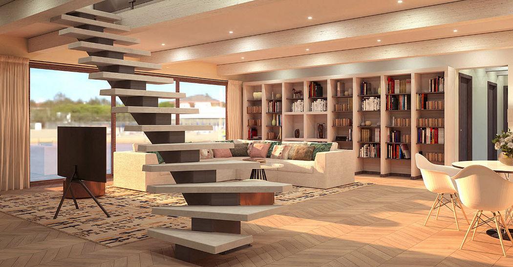 SO LOFT Mittelholmtreppe Treppen, Leitern Ausstattung  |