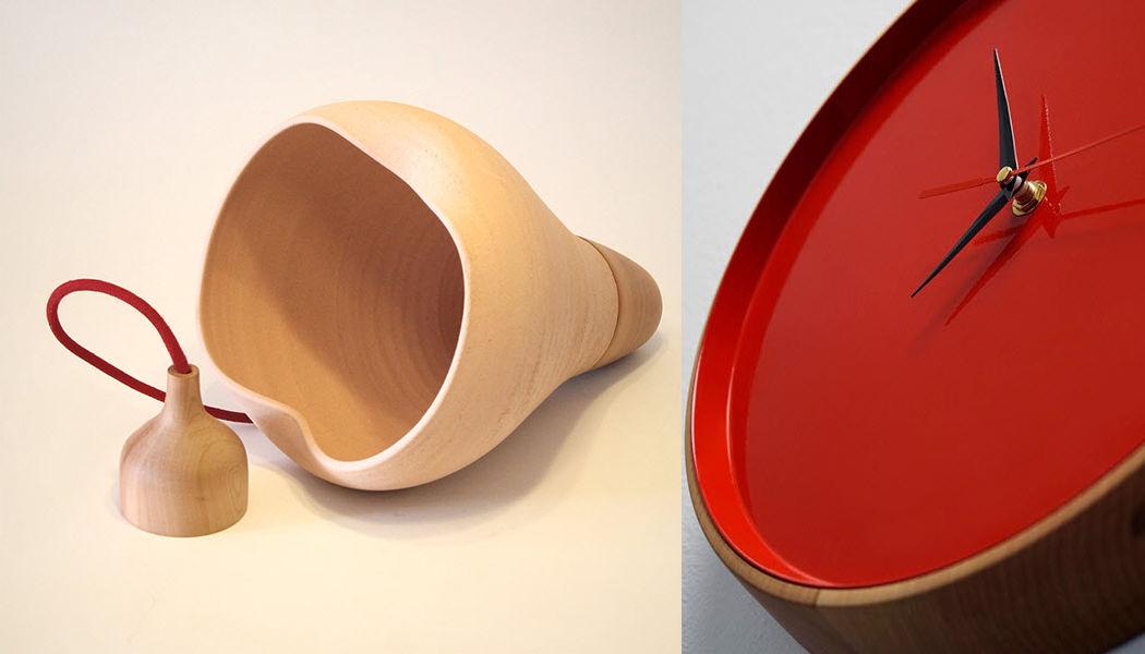 ABEL CÁRCAMO Wanduhr Uhren Pendeluhren Wecker Dekorative Gegenstände Eingang | Design Modern