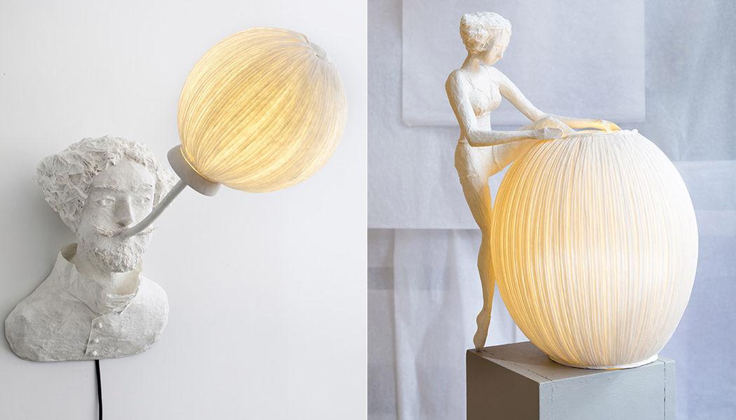 PAPIER À ÊTRES Beleuchtete Statue Verschiedene Artikel zum Verschönern Verzierung  |