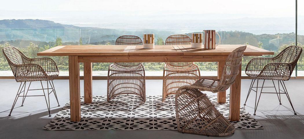 Artbambou Rechteckiger Esstisch Esstische Tisch  |