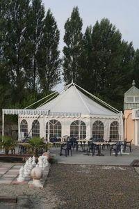 Abritez Vous Chez Nous Gartenzelt