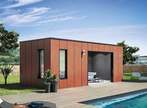 Wood Design Poolhaus