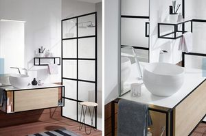Doppelschrank Badezimmer