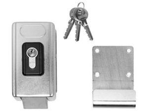 Wimove - verrouillage lateral electronique - Schlossaufbaugehäuse