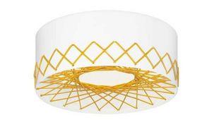 Zero - cord plafonnier jaune - Deckenleuchte