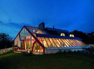 Saint Gobain Glass -  - Glasfensterfront