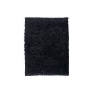 LUSOTUFO - tapis design lumy noir - Shaggy Teppich