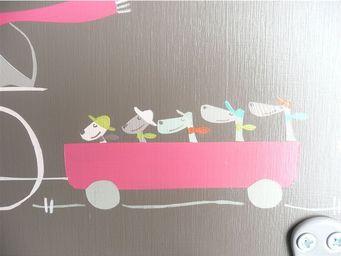 ICI LA TERRE - patere double vélo-family - Kleiderständer