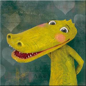 DECOHO - le crocodile - Dekorative Gemälde Für Kinder