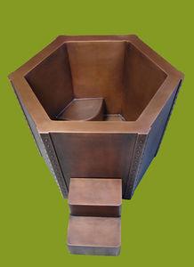 COPPER DESIGN MAKERS -  - Holzbadewanne