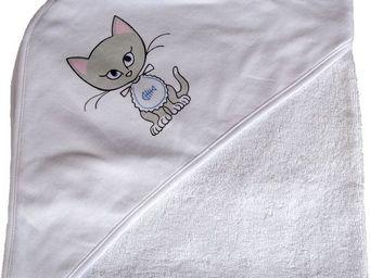 SIRETEX - SENSEI - cape de bain jersey/eponge imprimé misti bavoir - Badecape