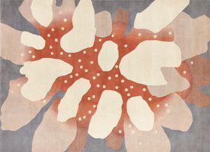 Deirdre Dyson - coral - Moderner Teppich