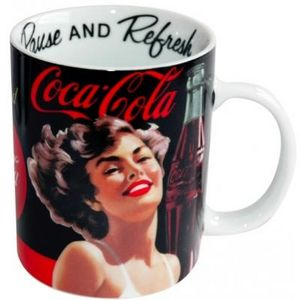 Avenue Of The Stars - mug classique coca-cola pin-up - Mug