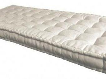 Futon Design - matelas futon 90 x 190 cm ecru - Federkernmatratze
