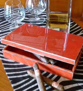 NOEL COLLET Orfèvre -  - Zigarrenkassetten