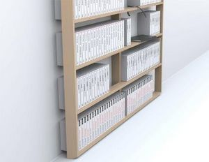 Arnaud Deverre - bibliothèque wall book - Massangefertigter Bücherschrank
