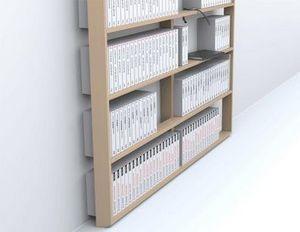 Malherbe Paris - bibliothèque wall book - Massangefertigter Bücherschrank
