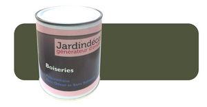 Peinturokilo - peinture vert olive pour meuble en bois brut 1 lit - Holzfarbe