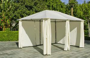 HEVEA - tonnelle rectangulaire creta 12m² en acier et toil - Gartenzelt