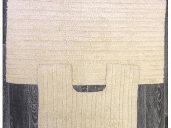 ILIAS - tapis de salle de bain et toilette crème - Badematte