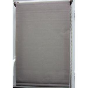 Luance - store enrouleur tamisant 45x180 cm taupe - Verdunkelungsrollo