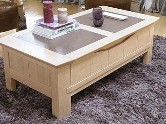 CDL Chambre-dressing-literie.com - meubles tv, tables et petits mobiliers - Rechteckiger Couchtisch