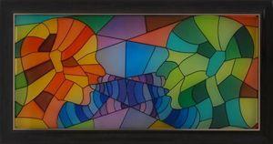 LIGHT MY ART - « conversation » © par salma - Zeitgenössische Gemälde