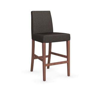 Calligaris - chaise de bar latina de calligaris argile et noyer - Barstuhl