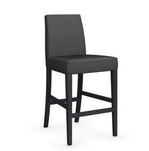 Calligaris - chaise de bar latina de calligaris gris foncé et h - Barstuhl