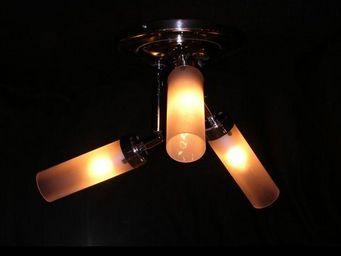 Metal D'alcove Eric Katz - les trois tritons - Deckenlampe Hängelampe