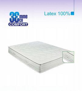 ECO CONFORT - matelas eco-confort 100% latex 7 zones 140 * 190 - Latexmatratze