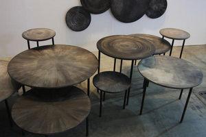 MOS DESIGN - table basse ronde 1235128 - Runder Couchtisch