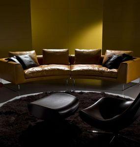 ITALY DREAM DESIGN - add-look round - Sofa 3 Sitzer
