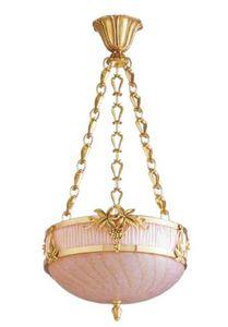 Lucien Gau - art nouveau - Deckenlampe Hängelampe