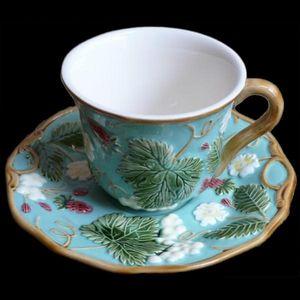 Au Bain Marie - tasse à thé turquoise - Teetasse